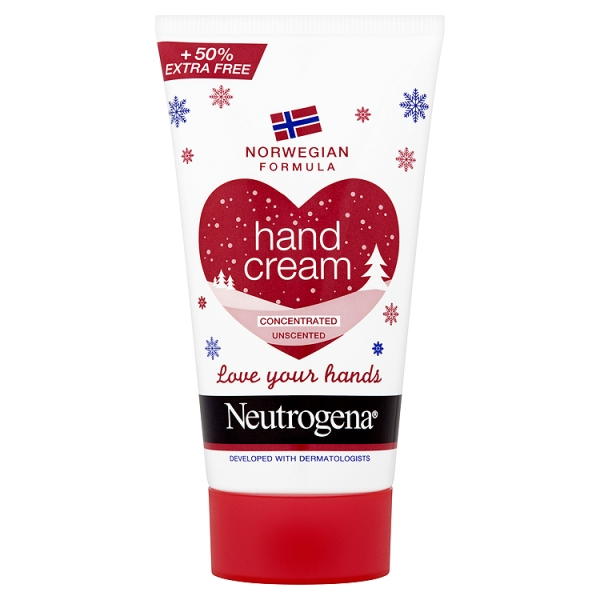 Neutrogena Norwegian Formula Hand Cream Concentrated Unscented, 75ml