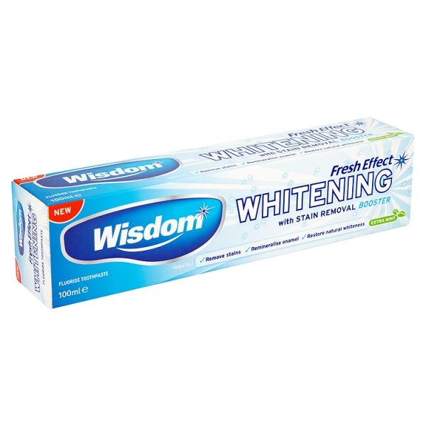 Wisdom Fresh Effect Whitening Toothpaste 100ml - Consult ...